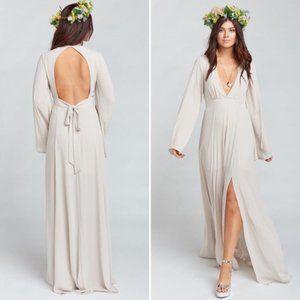Show Me Your Mumu Venus Long Sleeve Dress XL NEW